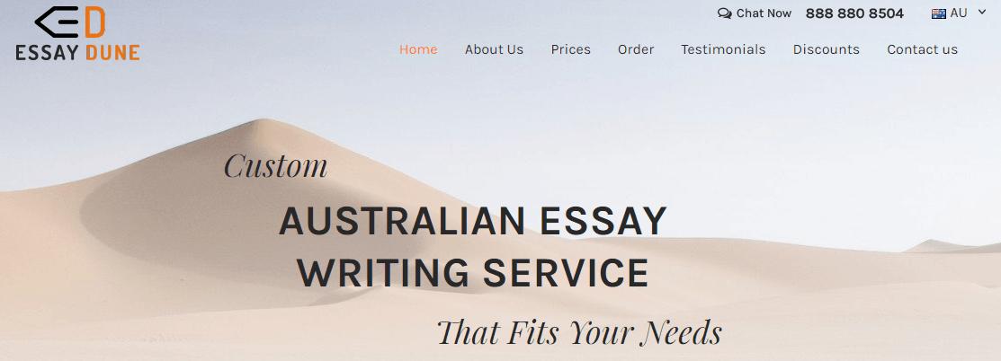 au.essaydune.com home page