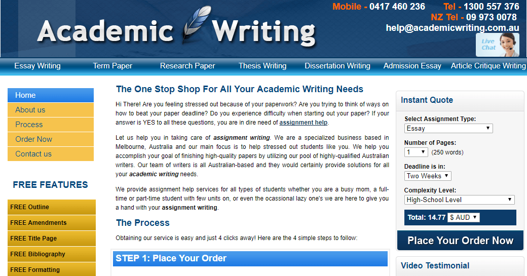 academic writing services australia When it comes to finding the perfect aussie essay writer for academic assistance and unparalleled service writing services in australia.