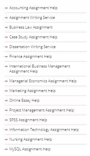 uniassignmenthelp.com.au services