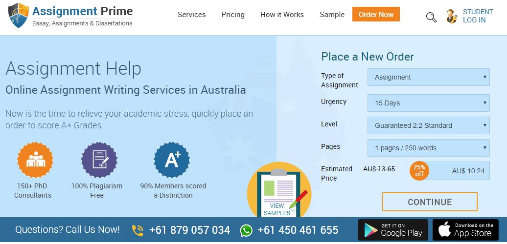 assignmentprime.com home page