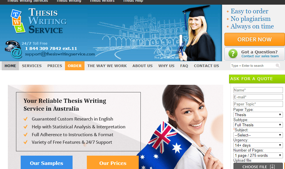 thesis servicing complaints Get help with your thesis from online custom dissertation and thesis writing & editing services - phd writers in verity of disciplines any level deadline us, uk and.