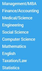 essaycorp.com subjects