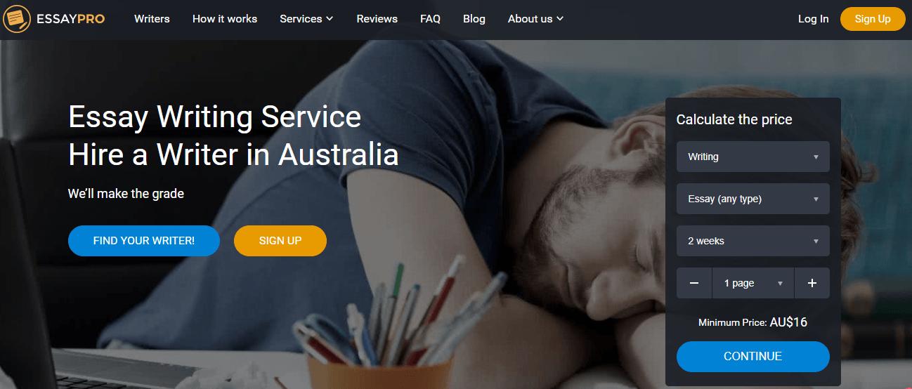 essaypro.com Australia
