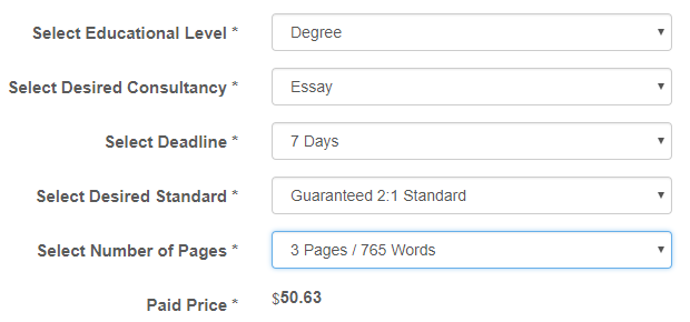 topqualityassignment.com prices