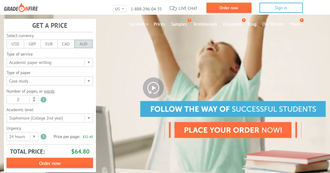 gradeonfire.com