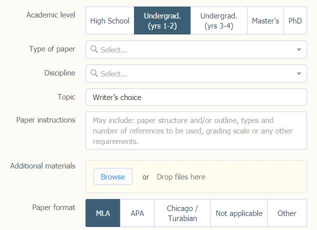 domyassignments.com order form