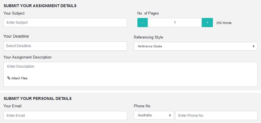 essayassignmenthelp.com.au order form