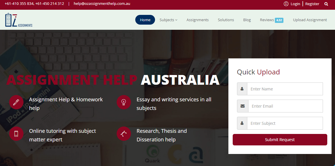 ozassignments.com