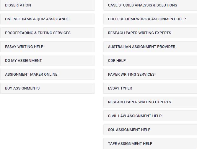 sampleassignment.com services